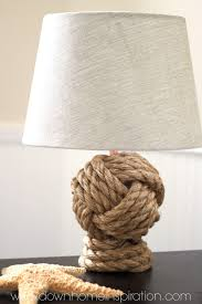 Pottery Barn Knockoff Rope Knot Lamp - Down Home Inspiration Desk Lamp Lamps Pottery Barn Pictures About Singular Driftwood Floor Photo 2 Table Atrium Glass Articles With Tag Ergonomic Nautical Diy Mica Cover The Wooden Houses Ding Room Wall Mirrors Leera Antique Mercury For Sectionals Chelsea Sectional 40 Awful Image Concept