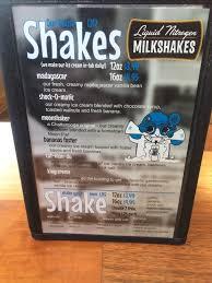 liquid nitrogen milkshake on deck yelp
