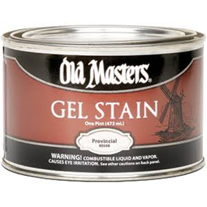 Old Masters Oil Based Gel Stain - Provincial, 1 pint