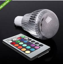 15w rgb led light bulb l e27 e14 b22 gu10 gu5 3 multi color 16
