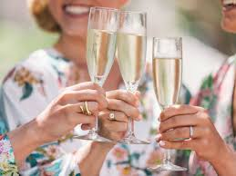 Toasting At Bachelorette Party