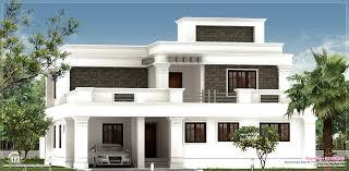 100 Home Dizayn Photos Flat Roof Villa Exterior In 2400 Sqfeet Kerala Home Design And