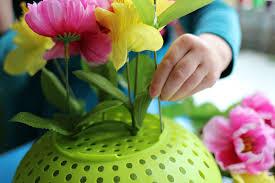 Fine Motor Flower Arrangements Preschool
