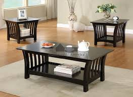 excellent black coffee table sets end tables with drawers for