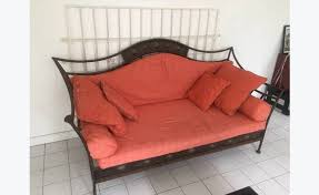 canape fer forge canapé fer forgé annonce meubles et décoration orient bay