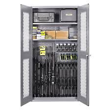 Stack On Steel Security Cabinet 18 Gun by Secureit Tactical Steel Cabinet 1500 Gear And Gun Storage