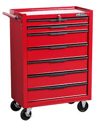 Hilka G301T7BBS Heavy Duty 7 Drawer Trolley With Ball Bearing Slides ...