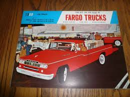 1960 Fargo Model Low Tonnage Sales Brochure And 32 Similar Items