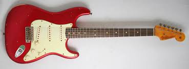 Fender Custom Shop 1964 L Series Strat Relic Candy Apple Red