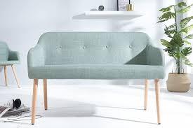 dunord design sitzbank im skandinavischen retro look