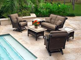 Gorgeous Wicker Resin Patio Furniture with Resin Wicker