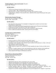 Resume For Administrative Assistant In School Description Office Job Sample Genius Asst Duties