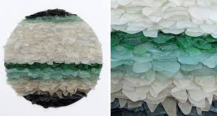 Recycled Sea Glass Sculptures Jonathan Fuller 12