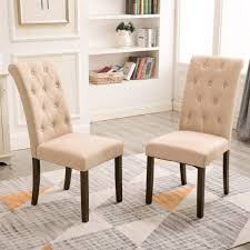 Target Dining Chairs Upholstered Nailhead Wayfair Wingback Chair ... Wingback Ding Chair White And Gray Roundhill Button Tufted Solid Wood Hostess Chairs With Amazoncom Lazymoon Beige Pattern New Pacific Direct Inc Aaron Upholstered Parson Nailhead Trim With Msp Design Show How To Recover A Richmond Vintage Tan Leather Zin Home Nail Head Accent Ramalanco Homespot Archie Pu Velvet Set Of 2