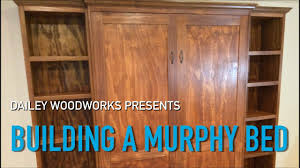 Queen Murphy Bed Kit by How To Build A Murphy Bed Using Create A Bed Hardware Kit Youtube