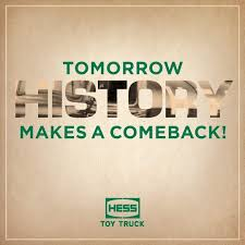 100 Hess Truck History October 1 2018 S Pinterest October 1 S And