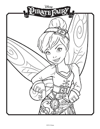 Tinkerbell Coloring Pages Celebrate Film With Pictures