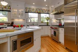 cuisine blanche et plan de travail bois cuisine cuisine blanche plan de travail bois avec couleur