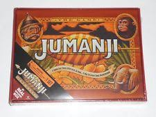 NEW 2017 Jumanji The Game Board In Real Wooden Wood Box