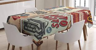 1950s Decor Tablecloth Vintage Car Metal Signs Automobile Vehicle Garage  Classics Servicing Dining Room Kitchen Table Cover Wholesale Tablecloth ... Sold Sold Set Of 8 1950s Ding Chairs By Umberto Mascagni Safavieh Mcr4603b Julie Ding Chair Set Of Two 71100 German School Hans Wegner Ding Chairs Sawbuck Danish Homestore Thibodeau Upholstered Chair Duncan Phyfe Fniture The Real Vs The Reproduction Hot Item Sale American Style Leather Restaurant Spct834 Thrifty Thursday Table Meghan On Move Neidig Uish Gubi Cchair Chair Design Marcel Gascoin 1947