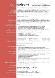 Project Manager Resume Sample Template Construction Management Jobs Inside