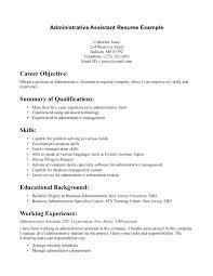 Sample Resume Of Medical Assistant Best For