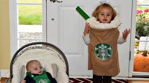 31 Days Of Halloween Costumes Starbucks Cup And Barista