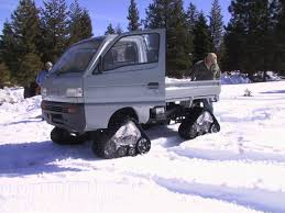 Winter Is Coming! Tracks For Your Mini--SALE!!! | Japanese Mini ... American Track Truck Car Suv Rubber System Canam 6x6on Tracks Atv Sxs Quads Buggies Pinterest Atv Halftrack Wikipedia Major Snowshoes For Your Car Snow Track Kit Buyers Guide Utv Action Magazine Gmc Pickup On Snow Tracks Tote Bag Sale By Oleksiy Crazy Rc Semi 6wd 5 Motors Pure Power Testimonials Nissan Tames Snow With Winter Warrior Track Trucks Video