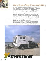 2004 ALP Adventurer Truck Campers Brochure | RV Literature In The Spotlight The Unimog U500 And Phoenix Flatbed Popup Rugged Offroad Camper Sports A Surprisingly Fancy Interior Curbed It Seems Unlikely That Review Of Hardside Basement Truck Lance 650 Truck Camper Campers Pinterest Lancing Fc Corner Adventure Burly Adventure Is Prepped To Go Offgrid Adventurer Model 80rb 2001 Alp Brochure Rv Literature 80gs 2014 Used Lp Adventurer 86sbs In Utah Ut Review Wolf Creek 850