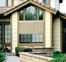 Roll Up Patio Shades by Window Blinds Exterior Blinds For Windows Brown Bamboo Roll Up