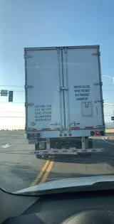 Best Thing I've Seen On The Back Of A Semi Truck - Album On Imgur