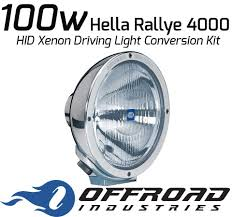 100w Hella Rallye 4000 HID Conversion Kit froad Industries v=