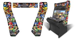 Arcade Cabinet Plans Tankstick by 32 U2033 Sit Down Arcade Game Room Graphics