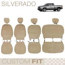 100 Pickup Truck Seat Covers Chevy Silverado OEM Fit Custom