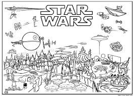 Star Wars Movie Free Printable Coloring Pages