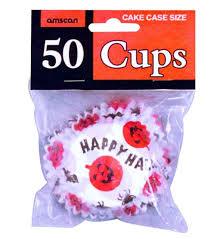 Happy Halloween Cupcake Cases