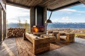 Brilliant Modern Rustic Outdoor Furniture Rustic Modern Outdoor