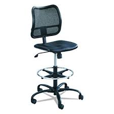 amazon com safco products 3395bv vue extended height chair