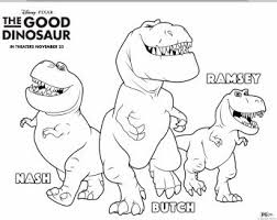 Free Good Dinosaur Coloring Pages 3