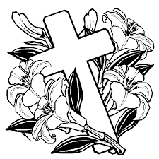 Free Coloring Pages Of Cross On Road