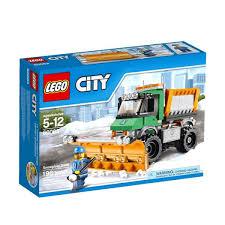 Obral LEGO Snowplough Truck 60083 Mainan Anak - Obral.co
