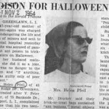 Tainted Halloween Candy 2013 by Li Woman Remembers Halloween She Got Poison With Candy New York Post