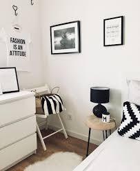 schwarz weiß liebe dieses schlafzimmer im monochrome look