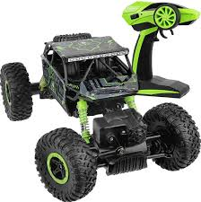 Amazon.com: Click N' Play Remote Control Car 4WD Off Road Rock ...