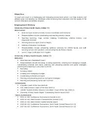 Assistant Football Coach Resume Sample Coaching Samples Combined With For Prepare Perfect College