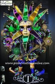 Mardi Gras Mask Door Decoration by Awesome Mardi Gras Wreath My Door Decor U0026 More Pinterest