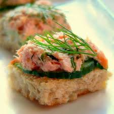canape de the 25 best smoked salmon canapes ideas on smoked