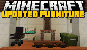 Minecraft NEW FURNITURE MOD Chairs Kitchens Workplaces & More