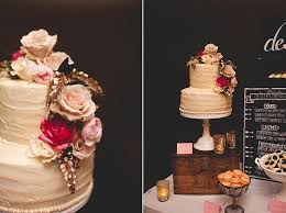 Understated White Wedding Cakes Pink Floral Accents
