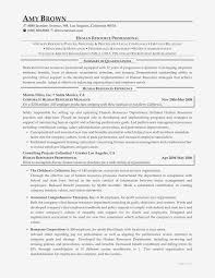 Human Resources Sample Resume Professional Beautiful Hr ...